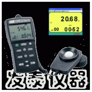 TES-1339R 专业级照度计