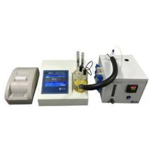 锂电池电解液及极片含水量专用测定仪