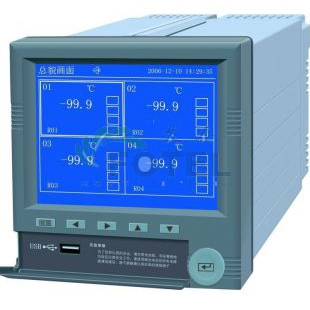 FTR4100蓝屏无纸记录仪