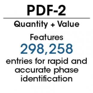 PDF-2 2018衍射數據庫卡片
