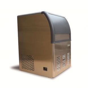 制冰机商用联客68KG奶茶店65冰格小型方冰制冰机方块冰机