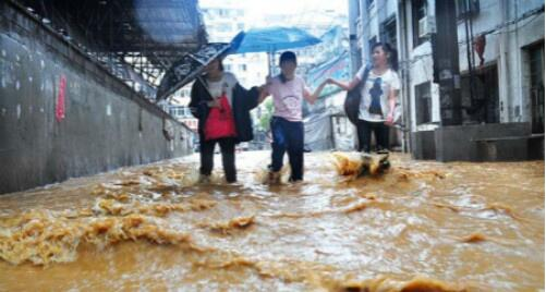强降雨未影响城区自来水水质 已经过仪器检测