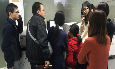 """天美公司举办本年度第二期 """"日立荧光分光光度计""""应用技术培训班"""