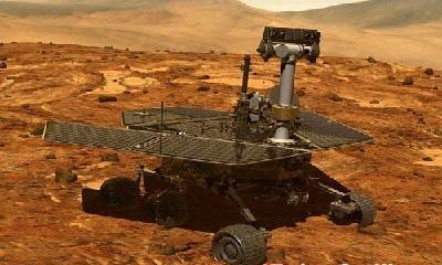 火星登陆_美国火星探测器勇气号成功登陆火星