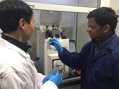 博晖创新CMS质谱仪携手浙大化学系再登国际重要期刊