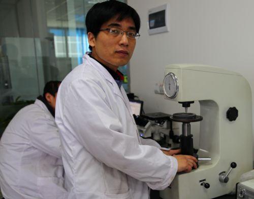 珠海检测院首创研发灵敏度校验试片辅助装置技术