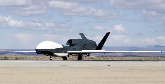 """美空军计划在""""全球鹰""""上搭载多光谱成像传感器"""