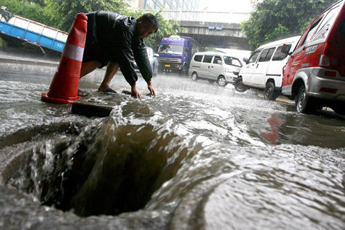 河北构建城市内涝监测预警系统