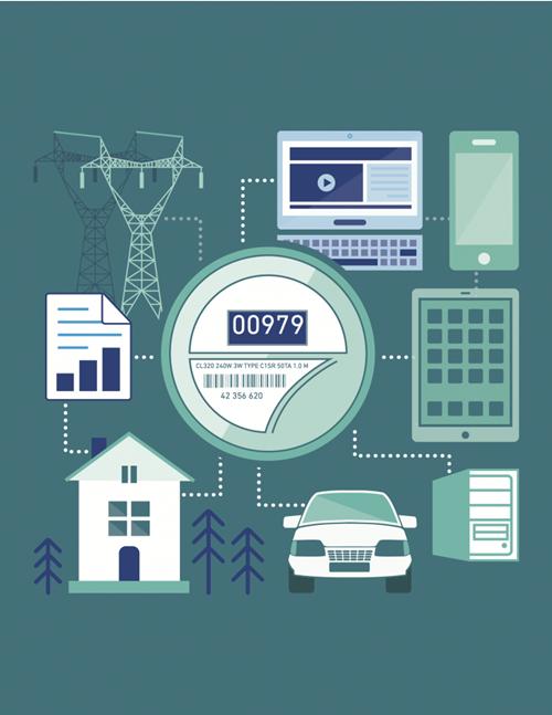 2017-2021年全球数字电表市场的年复合增率将达4.91%