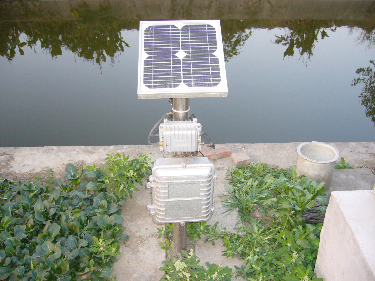 水质一旦异常,监测点会及时反馈数据