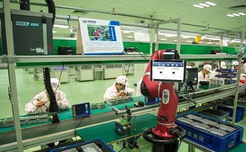 仪器仪表行业机器人的应用