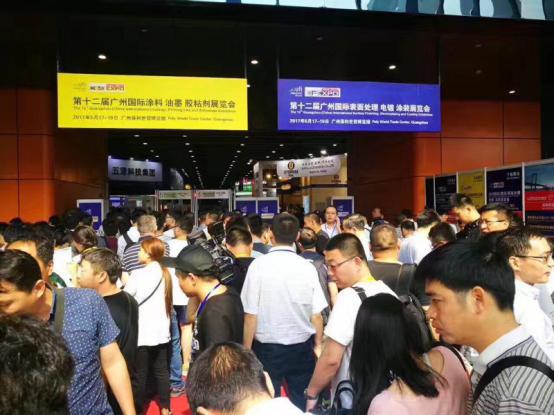 2017第十二届广州国际表面处理展今日隆重开幕,盛况空前!
