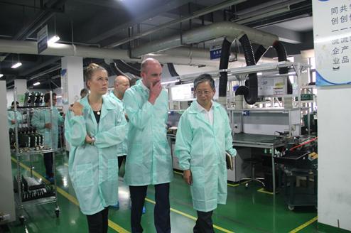 德国工业4.0专家团及名企高管一行访聚光科技