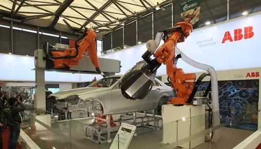 ABB欲称霸110亿美元中国工业机器人市场