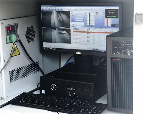 河北保定市固定式机动车尾气遥感监测系统启用