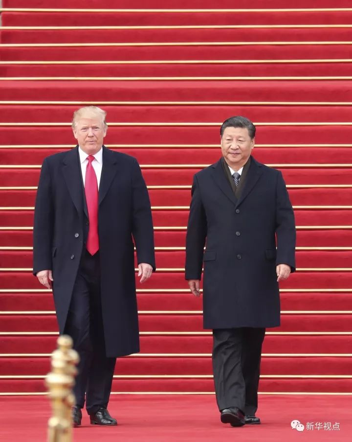 特朗普结束对中国访问 此行中美签下这些大单