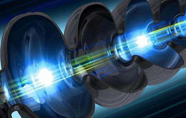 世界首台超小型激光加速器辐照装置建成并运行出束