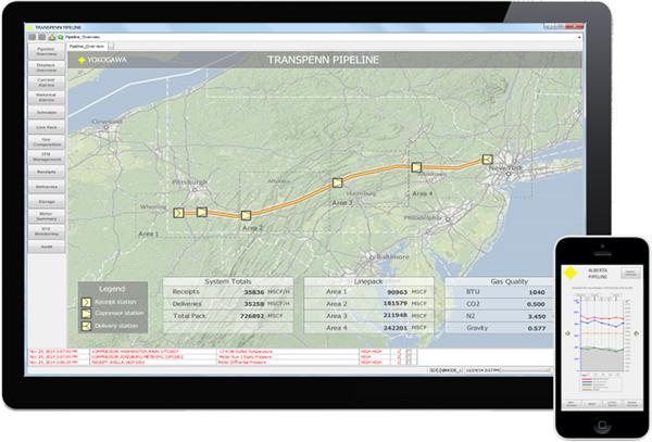 横河电机发布基于网络的实时操作管理和可视化软件解决方案