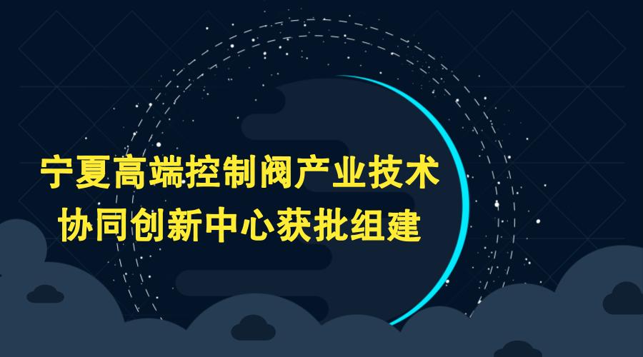 宁夏高端控制阀产业技术协同创新中心获批组建