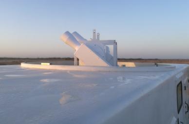 光电所研制首套由巴基斯坦引进的大型光学跟踪测量系统