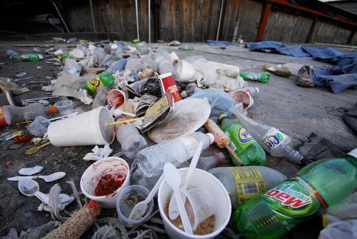 """王俊凯呼吁""""随手做环保"""",垃圾其实用处多"""