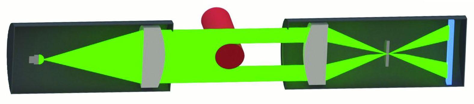 一种可快速保证电缆线径质量的测径仪