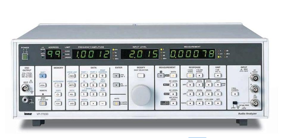 音频测试仪/视频测试仪