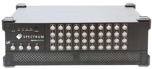 Spectrum数字化仪精确测量48通道,实现直流至60MHz多通道完全同步