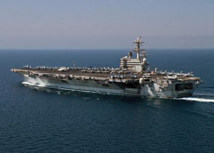 第二艘福特级航母或将提前下水 为巩固优势,美国计划接着造