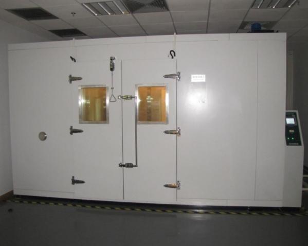 步入式试验箱安装