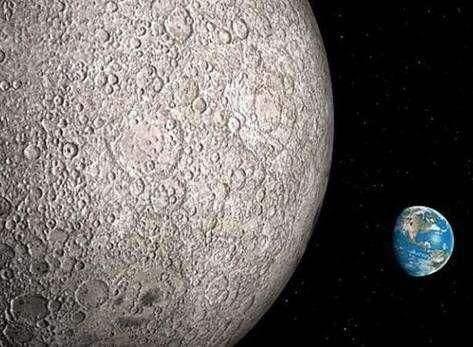 月球背面永远见不到太阳?