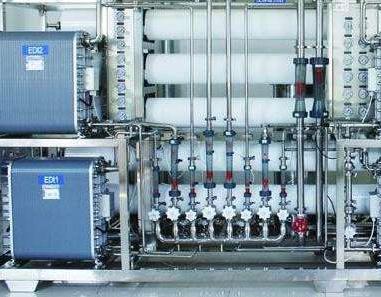 EDI超纯水设备工作原理