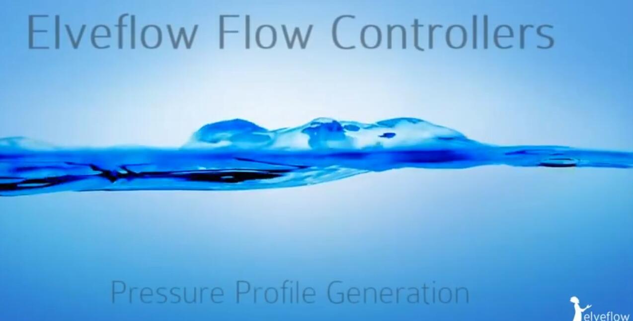 微流控精密压力进样泵OB1操作软件ESI产生不同波形的压力