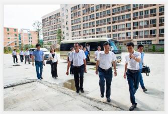 莆田市市委书记林宝金一行莅临华志科技视察指导工作