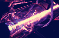量子级联激光器对燃烧气体含量化学分析