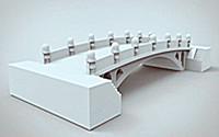 """北工大采用三维立体打印技术复刻缩小版""""赵州桥"""""""