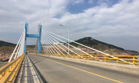 我国自研智顶升桥塔平台助力长江大桥155米高主塔封顶