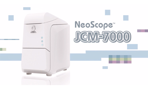 台式扫描电镜JCM-7000动画