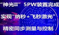 """""""神光II""""5PW装置完成 实现纳秒+飞秒激光的精密同步测量与控制"""