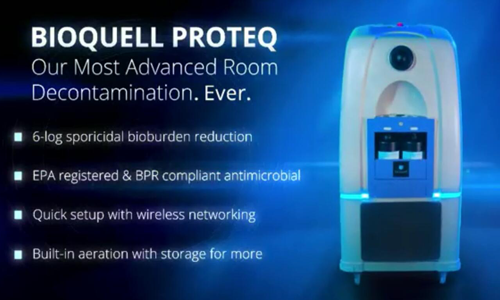 英国Bioquell移动式过氧化氢蒸汽发生器ProteQ