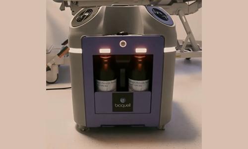 Bioquell BQ-50医院病房消毒操作过程