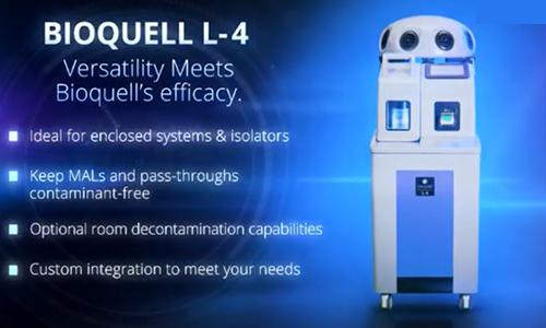英国Bioquell多功能过氧化氢蒸汽发生器 L-4
