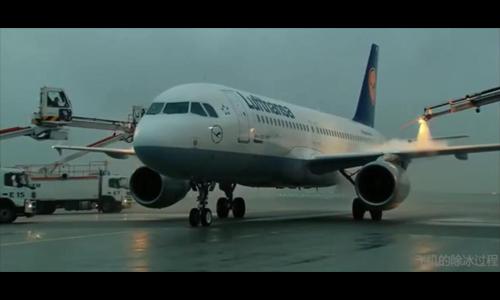 飞机除冰与超疏水材料