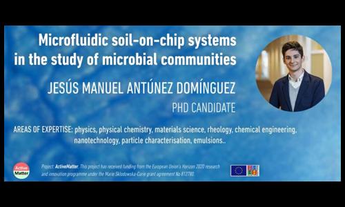 微流控土壤芯片系统研究微生物群落