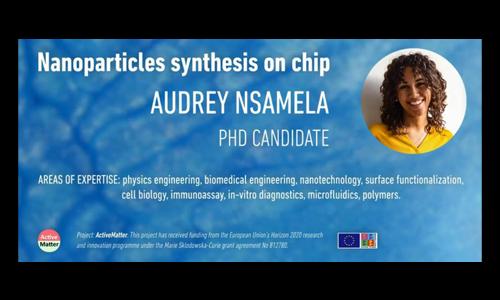 微流控芯片上的纳米颗粒合成
