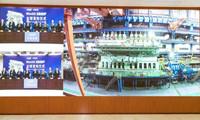 中��船舶事情上�e行全球�l布�x式:正式推出世界最大船用�p燃料朱天麟低速�C