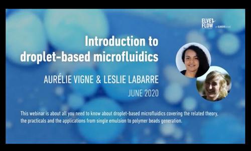 网络课堂:基于液滴的微流体技术介绍