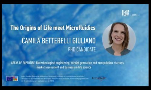 网络研讨会:微流体技术在生命起源中的探索应用
