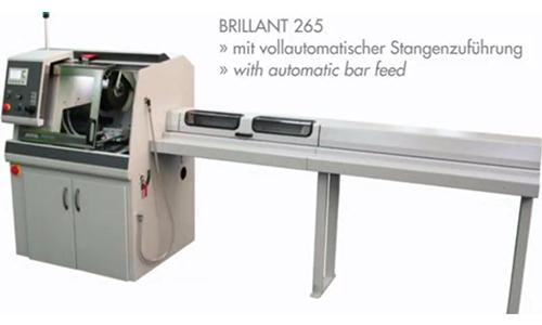 德国ATM全自动立式砂轮切割机Brillant 265