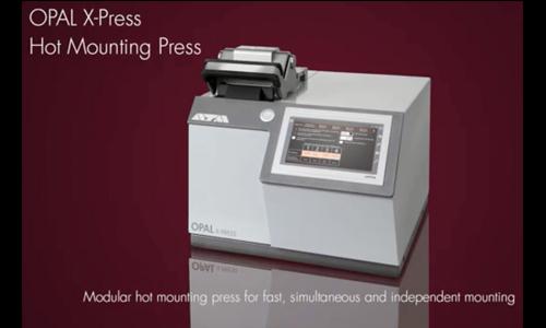 德国ATM全自动模块式热镶嵌机OPAL X-PRESS